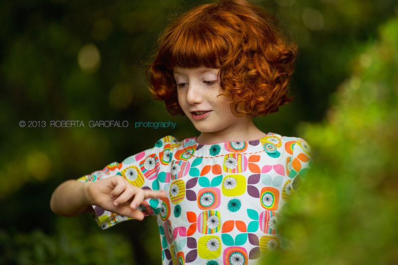 Fotografia di Benedetta nel parco. Roberta Garofalo, Fotografo professionista di Maternità, Neonati, Bambini e Famiglie, Roma