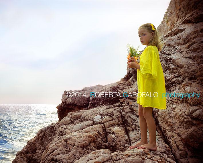 Fotografare bambini al mare