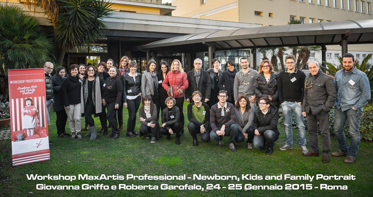 Workshop su fotoritocco e marketing fotografia di bambini. Roberta Garofalo, Fotografo professionista di Maternità, Neonati, Bambini e Famiglie, Roma