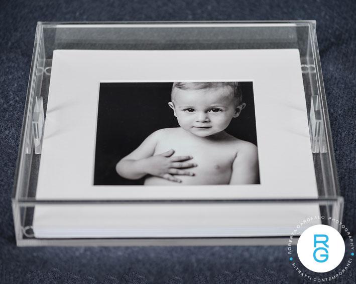 cofanetto in perspex per stampe del portfolio di roberta garofalo photography