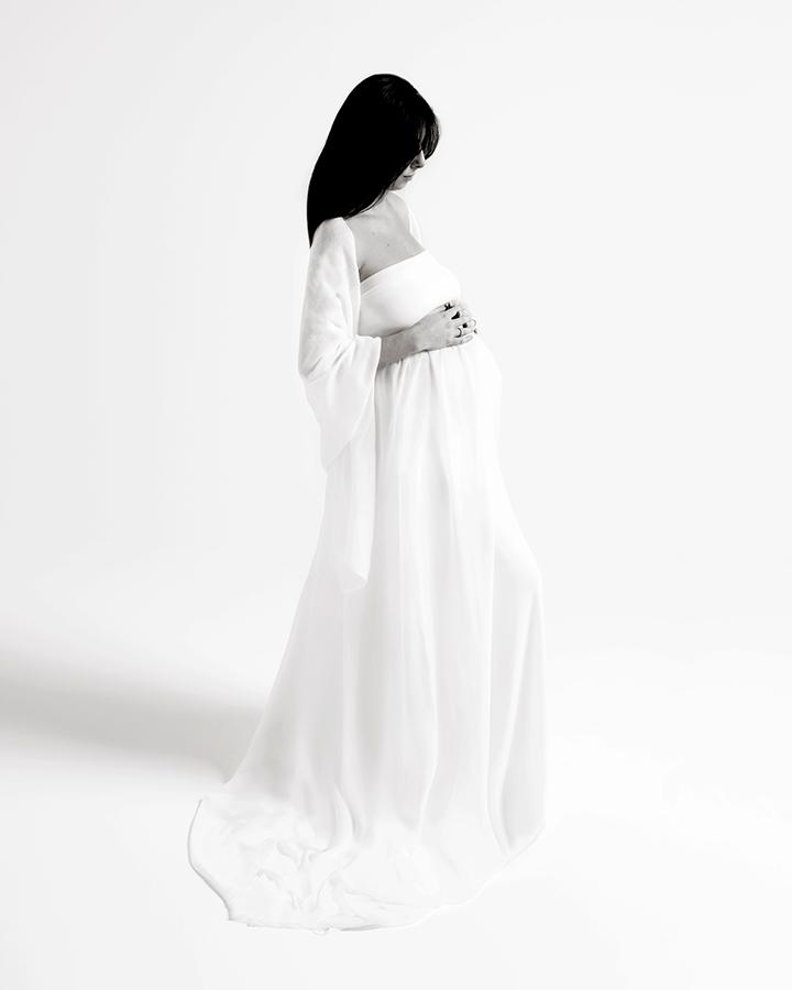 Sessione fotografica di maternità, Roma.